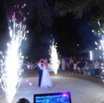πυροτεχνηματα γαμου