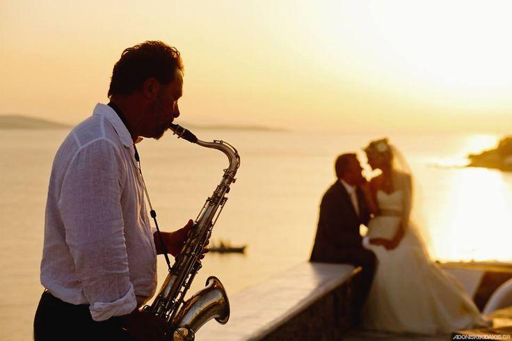 σαξοφωνο γάμου